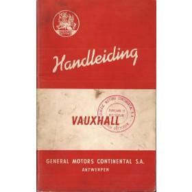 Vauxhall Wyvern/Velox Instructieboekje   Benzine Fabrikant 56 met gebruikssporen   Nederlands