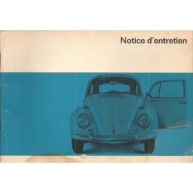 Volkswagen Kever Instructieboekje  T1 Benzine Fabrikant 66 met gebruikssporen   Frans