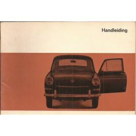 Volkswagen Ponton Instructieboekje  T3 Benzine Fabrikant 66 ongebruikt   Nederlands