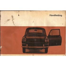 Volkswagen Ponton Instructieboekje  T3 Benzine Fabrikant 66 met gebruikssporen lichte vochtschade  Nederlands