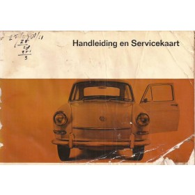 Volkswagen Ponton Instructieboekje  T3 Benzine Fabrikant 67 met gebruikssporen beschadigde kaft, lichte vochtschade  Nederlands