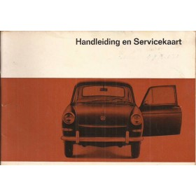 Volkswagen Ponton Instructieboekje  T3 Benzine Fabrikant 67 met gebruikssporen   Nederlands