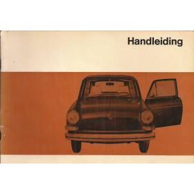 Volkswagen Ponton Instructieboekje  T3 Benzine Fabrikant 69 met gebruikssporen   Nederlands