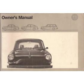 Volkswagen Ponton Instructieboekje  T3 Benzine Fabrikant 71 ongebruikt   Engels