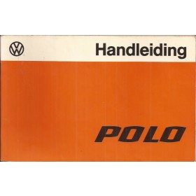 Volkswagen Polo Instructieboekje   Benzine Fabrikant 77 ongebruikt   Nederlands