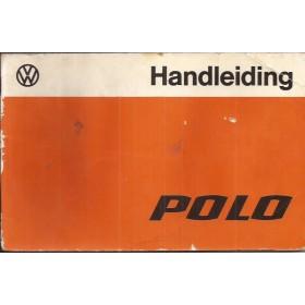Volkswagen Polo Instructieboekje   Benzine Fabrikant 77 met gebruikssporen lichte vochtschade  Nederlands