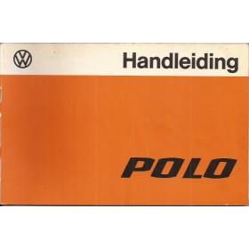 Volkswagen Polo Instructieboekje   Benzine Fabrikant 78 met gebruikssporen   Nederlands
