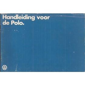 Volkswagen Polo Instructieboekje   Benzine Fabrikant 79 met gebruikssporen   Nederlands
