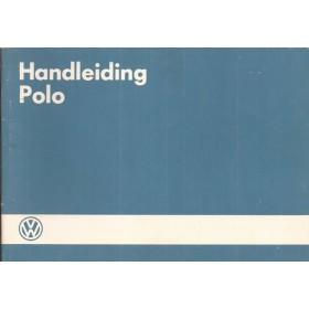 Volkswagen Polo Instructieboekje   Benzine Fabrikant 85 ongebruikt   Nederlands