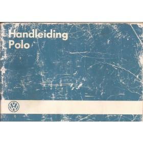 Volkswagen Polo Instructieboekje   Benzine Fabrikant 86 met gebruikssporen blauwe kaft, beschadigde kaft  Nederlands