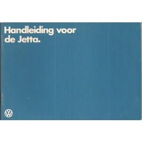 Volkswagen Jetta Instructieboekje   Benzine/Diesel Fabrikant 81 ongebruikt   Nederlands