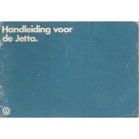 Volkswagen Jetta Instructieboekje   Benzine/Diesel Fabrikant 82 met gebruikssporen   Nederlands