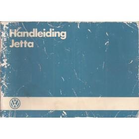 Volkswagen Jetta Instructieboekje  Mk2 Benzine/Diesel Fabrikant 84 met gebruikssporen   Nederlands