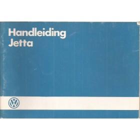 Volkswagen Jetta Instructieboekje  Mk2 Benzine/Diesel Fabrikant 85 met gebruikssporen   Nederlands