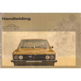 Volkswagen K70 Instructieboekje   Benzine Fabrikant 72 met gebruikssporen   Nederlands