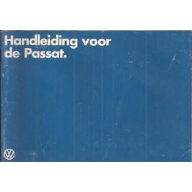 Volkswagen Passat Instructieboekje   Benzine/Diesel Fabrikant 79 met gebruikssporen   Nederlands