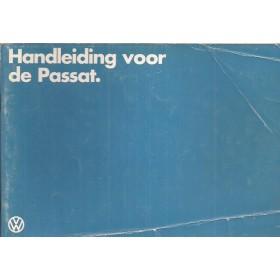 Volkswagen Passat Instructieboekje   Benzine/Diesel Fabrikant 80 met gebruikssporen vouw in kaft  Nederlands