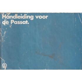 Volkswagen Passat Instructieboekje   Benzine/Diesel Fabrikant 80 met gebruikssporen lichte vochtschade  Nederlands