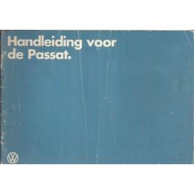 Volkswagen Passat Instructieboekje   Benzine/Diesel Fabrikant 82 met gebruikssporen   Nederlands