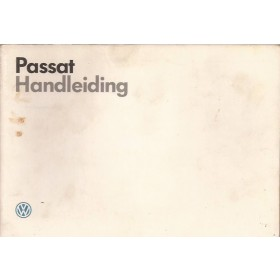 Volkswagen Passat Instructieboekje   Benzine/Diesel Fabrikant 86 met gebruikssporen   Nederlands