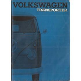 Volkswagen Transporter Instructieboekje   Benzine Fabrikant 63 met gebruikssporen   Nederlands