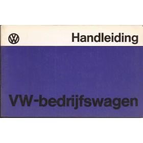 Volkswagen Transporter Instructieboekje   Benzine Fabrikant 77 ongebruikt   Nederlands