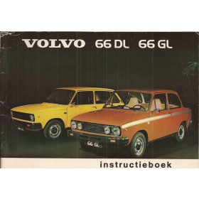 Volvo 66 Instructieboekje   Benzine Fabrikant 75 ongebruikt   Nederlands