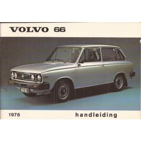 Volvo 66 Instructieboekje met servicemapje  MY 1978 Benzine Fabrikant 77 ongebruikt in originele map  Nederlands