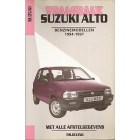 Suzuki Alto Vraagbaak P. Olving  Benzine Kluwer 94-97 ongebruikt Nederlands