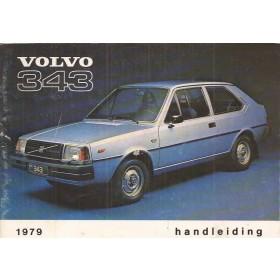 Volvo 343 Instructieboekje  MY 1979 Benzine Fabrikant 78 met gebruikssporen   Nederlands