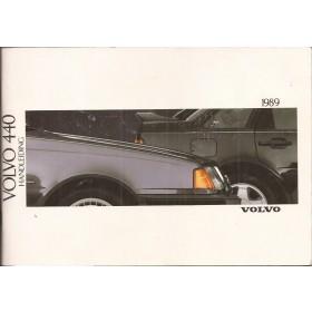 Volvo 440 Instructieboekje  MY 1989 Benzine Fabrikant 88 met gebruikssporen   Nederlands