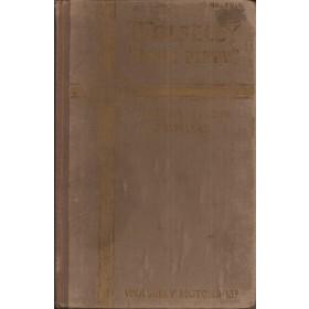 Wolseley 4/50 Instructieboekje   Benzine Fabrikant 49 met gebruikssporen   Engels