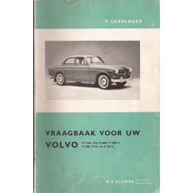 Volvo PV544/P1800/P121/P122 Vraagbaak P. Olyslager Benzine Kluwer 56-66 met gebruikssporen Nederlands