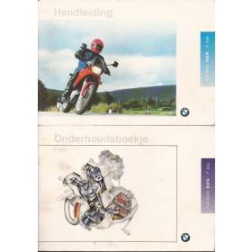 BMW F650 Instructieboekje   Benzine  93 ongebruikt met onderhoudsboekje  Nederlands