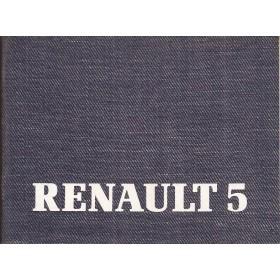 Renault Super 5 Instructieboekje   Benzine Fabrikant 86 ongebruikt   Nederlands