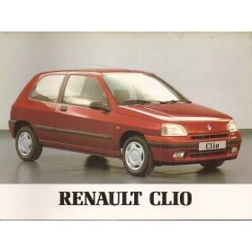 Renault Clio Instructieboekje   Benzine Fabrikant 95 ongebruikt   Nederlands
