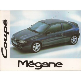 Renault Megane Instructieboekje   Benzine/Diesel Fabrikant 96 ongebruikt   Nederlands