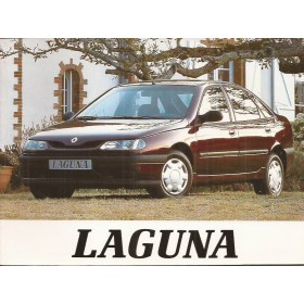 Renault Laguna Instructieboekje   Benzine Fabrikant 95 met gebruikssporen   Nederlands