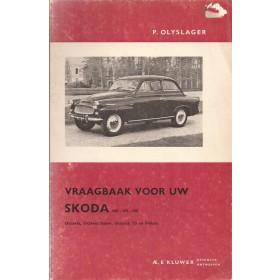 Skoda 440/445/450/Octavia/Felicia Vraagbaak P. Olyslager Benzine Kluwer 56-65 met gebruikssporen Nederlands