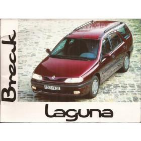 Renault Laguna Break Instructieboekje   Benzine Fabrikant 96 met gebruikssporen   Nederlands