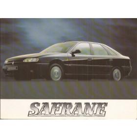 Renault Safrane Instructieboekje   Benzine/Diesel Fabrikant 94 met gebruikssporen   Nederlands