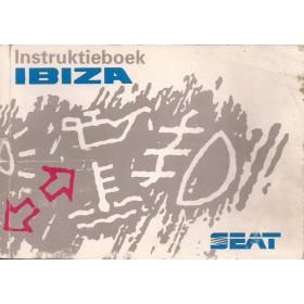 Seat Ibiza Instructieboekje   Benzine/Diesel Fabrikant 93 met gebruikssporen   Nederlands