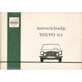 Volvo 164 Instructieboekje   Benzine Fabrikant 70 met gebruikssporen   Nederlands