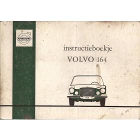 Volvo 164 Instructieboekje   Benzine Fabrikant 71 met gebruikssporen   Nederlands