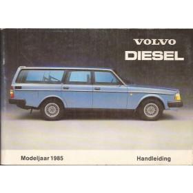 Volvo 240 Instructieboekje   Diesel Fabrikant 85 ongebruikt   Nederlands