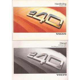 Volvo 240 Instructieboekje   Benzine/Diesel Fabrikant 87 ongebruikt   Nederlands