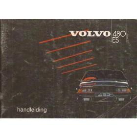 Volvo 480 ES Instructieboekje   Benzine Fabrikant 85 met gebruikssporen   Nederlands