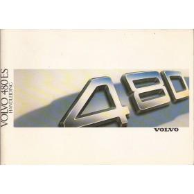 Volvo 480 ES Instructieboekje   Benzine Fabrikant 87 ongebruikt   Nederlands