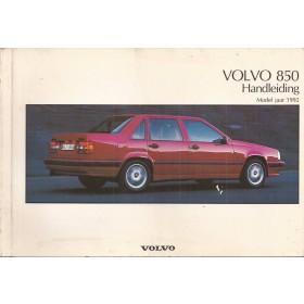 Volvo 850 Instructieboekje   Benzine Fabrikant 91 met gebruikssporen   Nederlands