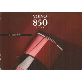 Volvo 850 Instructieboekje   Benzine Fabrikant 93 met gebruikssporen   Nederlands